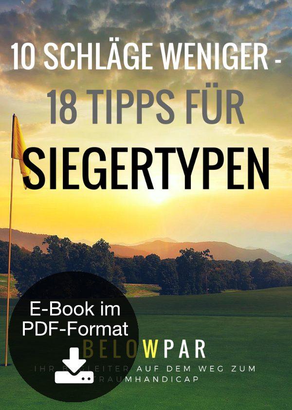 10 Schläge weniger – 18 Tipps für Siegertypen (E-Book)